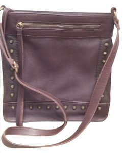 Lucky Brand Studded Leather Cross Body Bag