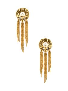 Erickson Beamon Erickson Beamon Chain Detail Statement Earrings