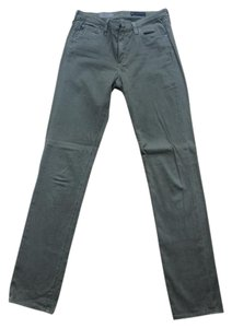 AG Adriano Goldschmied Straight Pants taupe/green