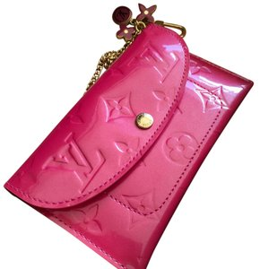 Louis Vuitton Louis Vuitton pink patent leather Cles