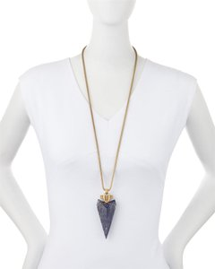 Tory Burch NEW Tory Burch 2015 Arrowhead Pendant Necklace Runway Exclusive