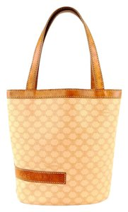 Céline Macadam 2-way Tote in Light Brown