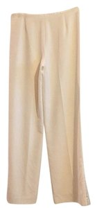 White House | Black Market Wide Leg Pants Cream