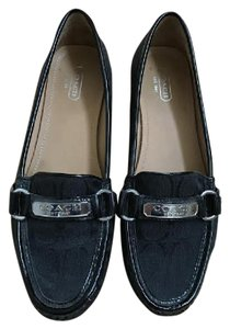 Coach Loafers Loafers Loafers Black Flats