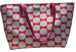 Kate Spade Tote in pink and white