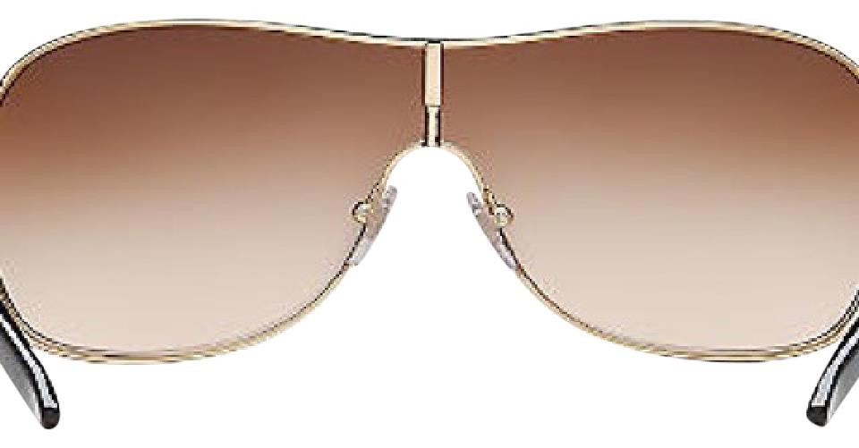 858aff43aea Versace Gold Brown Model Number Ve2101 Sunglasses - Tradesy