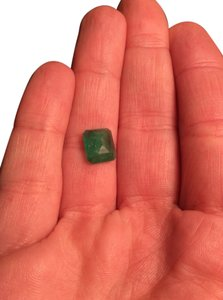 Loose Authentic 2.60 Carat Emerald