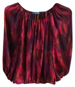 Alice + Olivia Top red/pink