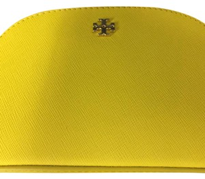 Tory Burch Small Robinson Leather Cosmetic Case