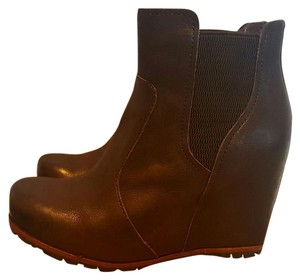 Kork-Ease Dark Brown Wedges