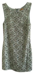 Alice + Olivia Silk Vintage Beaded Embroidered Dress