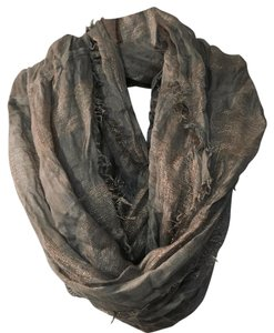 Anthropologie Anthropologie Gold & Grey Luxe Scarf