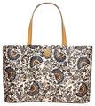 Tory Burch Tote in Blue/White