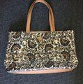 Tory Burch Tote in Blue/White Image 1