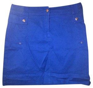 Jones New York Skirt Blue