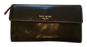 Kate Spade Kate Spade leather checkbook wallet
