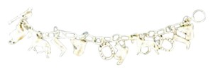 Tiffany & Co. Auth. Sterling Silver Tiffany & Co Equestrian Bracelet 7.5