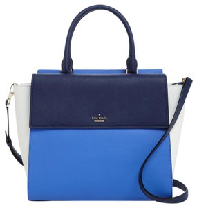 Kate Spade Satchel in adventure blue/white