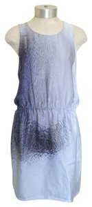 Halston short dress Light Blue on Tradesy