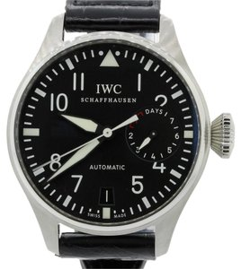 IWC IWC Big Pilot 7 Day Reserve 46mm IW 5009 01 Steel Black Watch