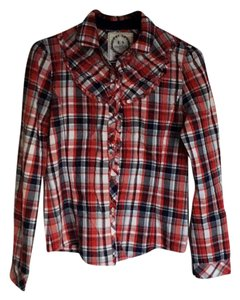 Etam Shirt Top Red