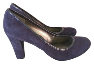 Bandolino Suede Purple Pumps