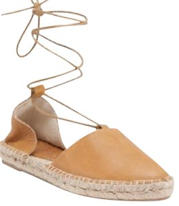 Other Espadrille Lace Up BEIGE Sandals