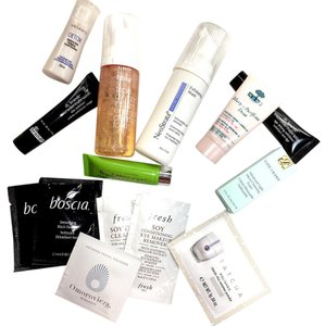 Bliss, Fresh, Glam Glow... Lot of High End Skin Cleansers & Exfoliators