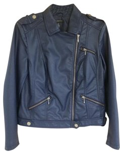 INC International Concepts Cute Faux Leather Motorcycle Jacket