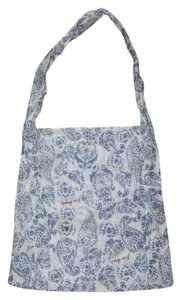 Free People Gauze Printed New No Tags Tote in BLUE IVORY
