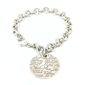 Tiffany & Co. Gorgeous Sterling Silver Tiffany & Co. Notes Bracelet