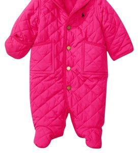 Ralph Lauren Infant Girls Infant Baby Girl Jacket Baby Bunting 9 Months Coat