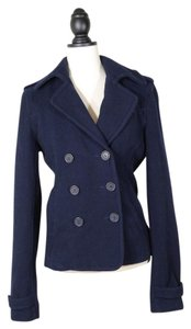 Abercrombie & Fitch Wool Double Breasted Pea Coat