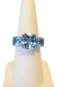 "Colleen Lopez Colleen Lopez ""Palace Jewels"" Sky Blue Topaz Ring 8"