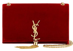Saint Laurent Ysl Monogram Made In Italy Cross Body Bag