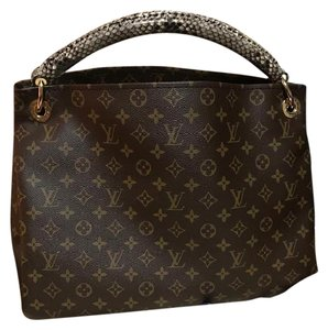 Louis Vuitton Limited Edition Python Hobo Bag