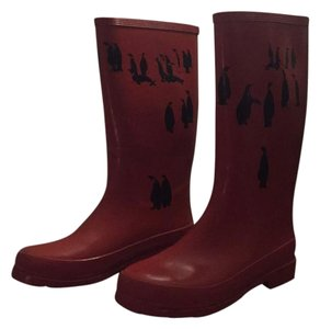 J.Crew Red Boots