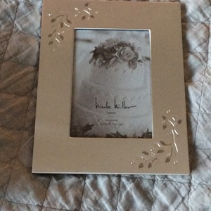 Nicole Miller Bridal Shimmer Photo Frame