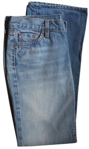 7 For All Mankind #97718 Style #u0750314 Embroidered Pockets Boot Cut Jeans-Medium Wash