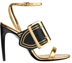 Burberry Pumps Buckles Pumps Gold Sandals
