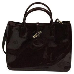 Longchamp Satchel in plum