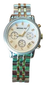 Michael Kors two tone silver and gold watch