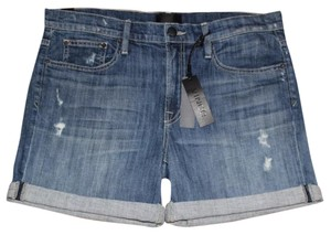 Vince Cuffed Shorts Blue