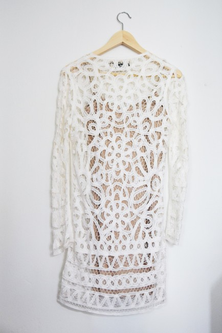 Stone Cold Fox Lace Bohemian Made In Usa Dress Image 1