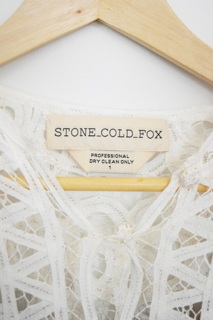Stone Cold Fox Lace Bohemian Made In Usa Dress Image 3