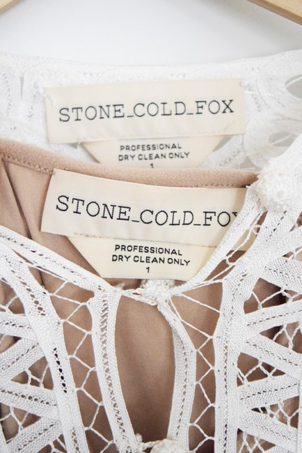 Stone Cold Fox Lace Bohemian Made In Usa Dress Image 4