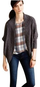 Anthropologie Pointelle Cocoon Cardigan Moth Sweater
