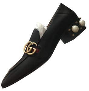 Gucci Pearl Loafer Peyton black Flats