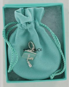 Tiffany & Co. Tiffany & Co. Sterling Silver Graduation Cap Charm w/ Oval Jump Ring