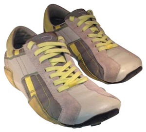 Diesel gray and yellow Athletic